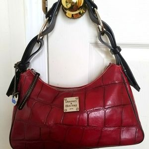 Dooney&Bourke red leather handbag